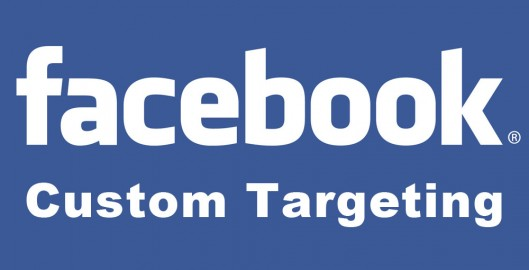Custom targeting Facebook
